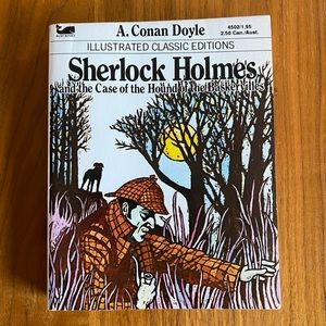 🎉5/20 SALE🎉 Sherlock Holmes Illustrated Classic